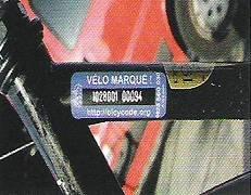 velo-marqué